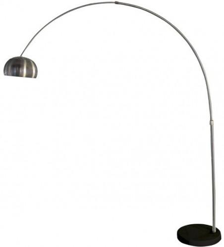 TEMPO KONDELA Cinda Typ 17 F1034-L stojacia lampa čierna / oceľ