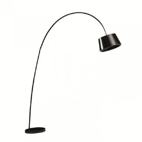 TEMPO KONDELA Cinda Typ 18 F1090 stojacia lampa čierna