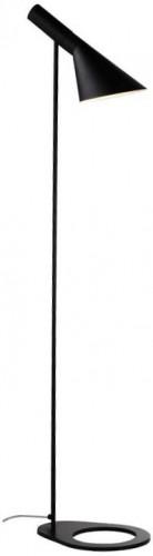 TEMPO KONDELA Cinda Typ 2 F6114 stojacia lampa matná čierna