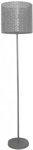 TEMPO KONDELA Jade Typ 9 stojacia lampa sivá