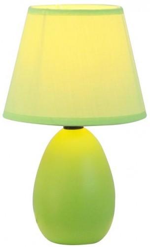 Tempo Kondela, Keramická stolná lampa, zelená, QENNY TYP 13 AT09350