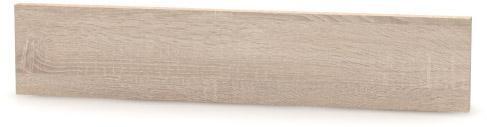 Tempo Kondela, Koncový bočný sokel, NOVA PLUS, NOPL-062-00, na nízke skrinky, dub sonoma