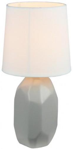 Tempo Kondela, QENNY TYP 1 AT15556 biela, Keramická stolná lampa