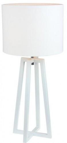 TEMPO KONDELA Qenny Typ 14 stolná lampa biela