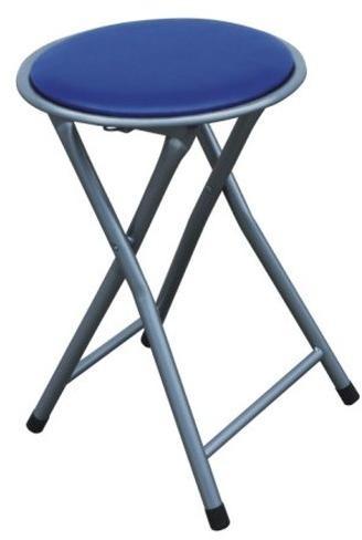 Tempo Kondela Skladací taburet/stolička, modrá, IRMA