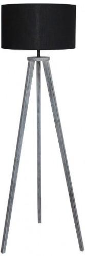 Tempo Kondela, Stojacia lampa, čierna/sivá, JADE Typ 10 6034-41B