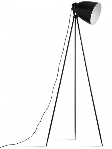 Tempo Kondela, Stojacia lampa, čierny kov, CINDA Typ 5 YF6249