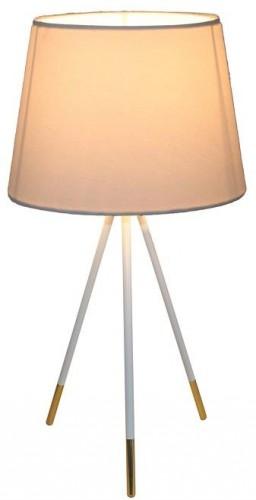 Tempo Kondela, Stolná lampa, biela, JADE Typ 5 8008-44B
