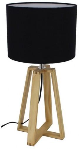 Tempo Kondela, Stolná lampa, čierna, JADE Typ 3 6033-15B