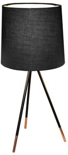 Tempo Kondela, Stolná lampa, čierna, JADE Typ 4 8008-44A