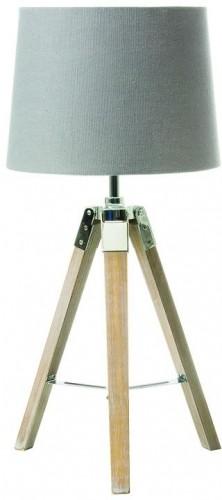 Tempo Kondela, Stolná lampa, sivá, JADE Typ 2 8008-17B