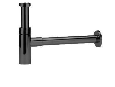 TEOREMA Program ONE - Dizajnový sifón, 1' 1/4, čierna matná P1-CP02-N0