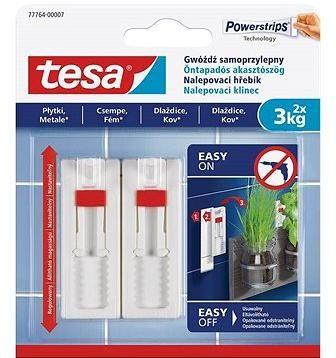 Tesa Nastavitelný nalepovací hřebík na dlaždice a kov 3kg