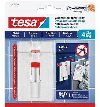 Tesa Nastavitelný nalepovací hřebík na dlaždice a kov 4kg