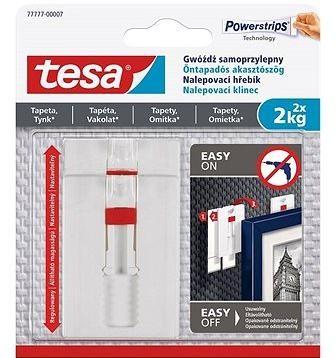 Tesa Nastavitelný nalepovací hřebík na tapety a omítku 2kg