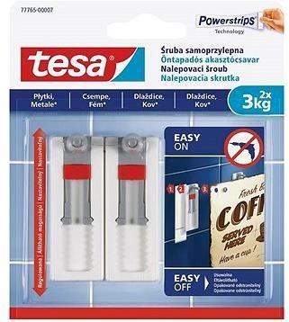 Tesa Nastavitelný nalepovací šroub na dlaždice a kov 3kg