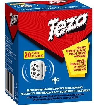 TEZA el. odpařovač proti komárům 20 tab.