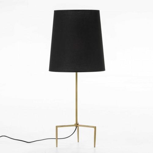 Stolová lampa v zlatej farbe bez tienidla Thai Natura, výška 46 cm