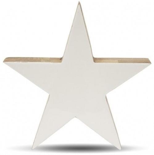 Drevená dekorácia Hviezda 30 cm