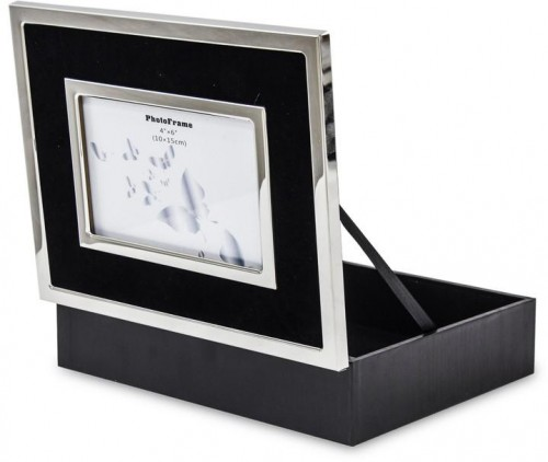 Šperkovnica Black chrom 24 cm