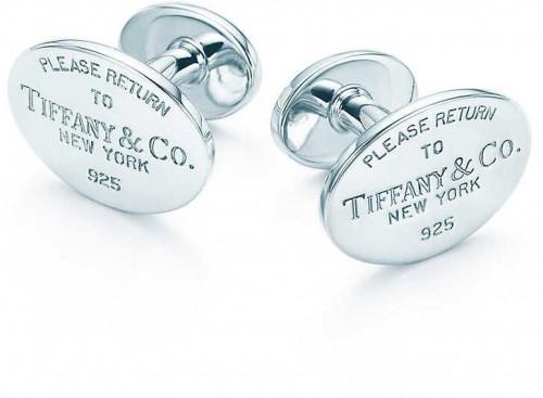Tiffany & Co. Strieborné manžetové gombíky 14266089 + originálne balenie