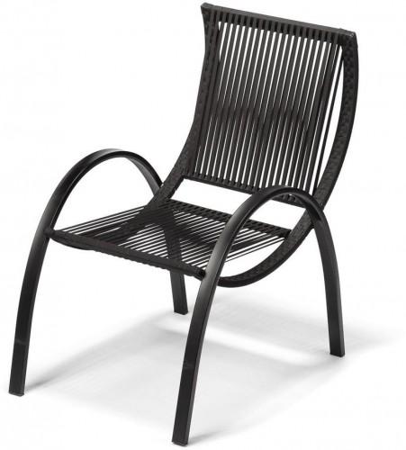 Dizajnová záhradná stolička Timpana Smelo
