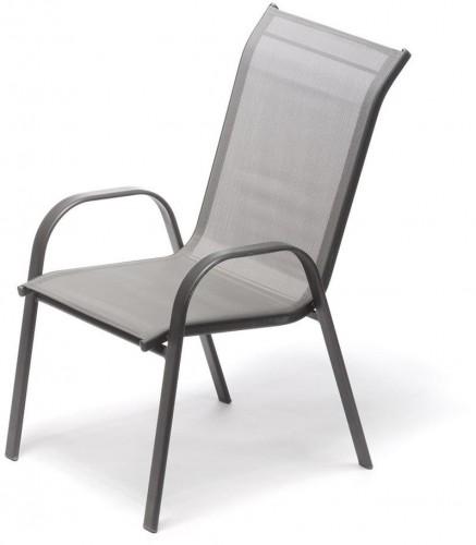 Záhradná stolička Timpana Hurga v antracitovosivej farbe