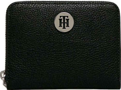 Tommy Hilfiger Dámska peňaženka Th Core Compact Za Wall et Black