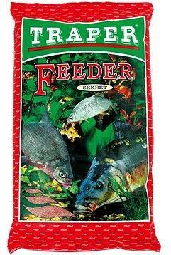 Traper Secret Feeder červený 1kg