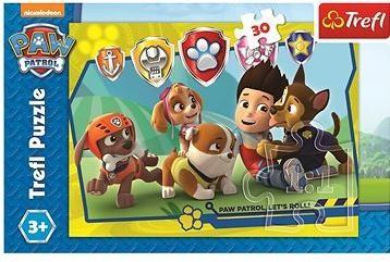Puzzle Tlapková patrola Ryder a kamarádi