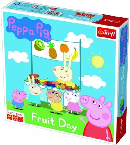 Trefl Stolná hra Prasiatko Peppa Fruit Day