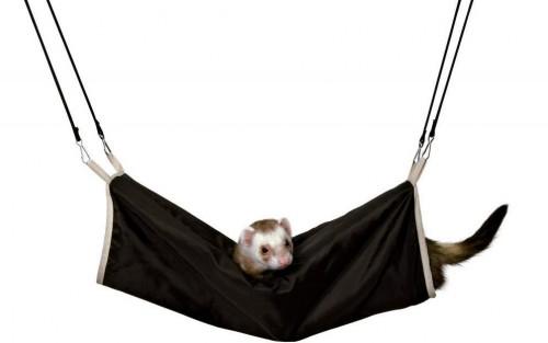 TUNEL pre fretky a potkany s kožušinou závesný - 20x45cm