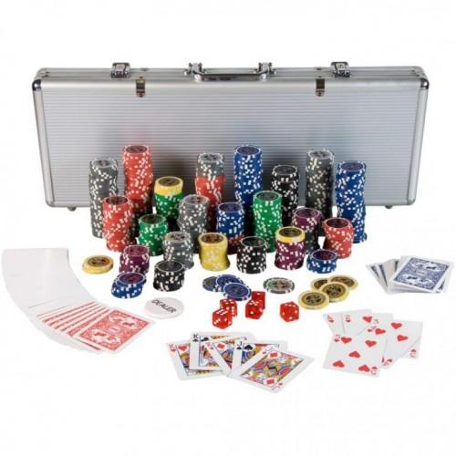 OEM M01212 Poker Set - 500 laserových žetónov Ultimate