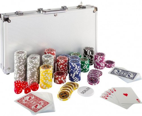 OEM M02642 Poker set 300ks žetónov 25-1000 dizajn Ultimate