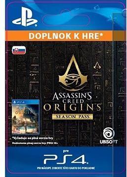 Assassins Creed Origins - Season Pass - PS4 SK Digital
