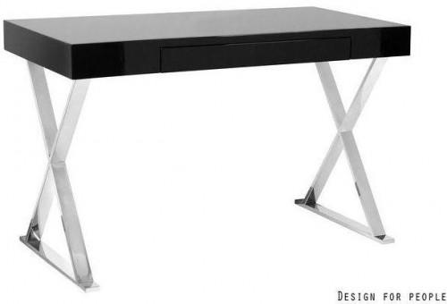 Dizajnový stôl Zara čierna