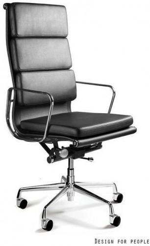 Kancelárska stolička West prírodná koža