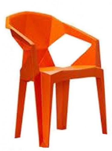 Stolička Meredith oranžová