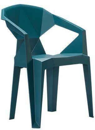 Stolička Meredith zelená