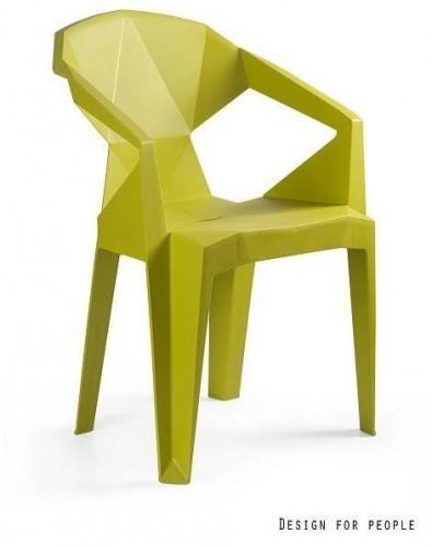 Stolička Meredith žltá
