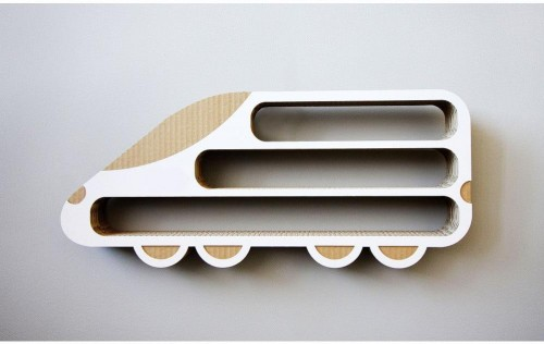 Polička Unlimited Design for kids Lokomotíva