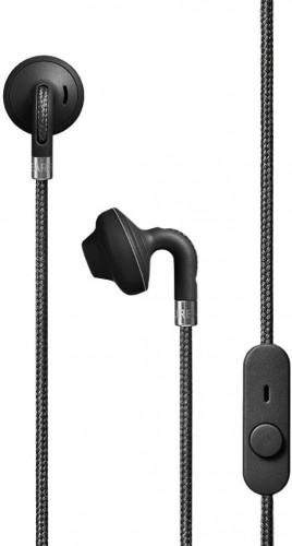 Čierne slúchadlá do uší s mikrofónom Urbanears SUMPAN Black