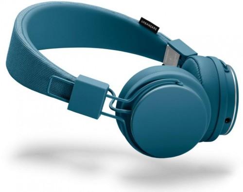 Modré slúchadlá s mikrofónom Urbanears Plattan II Indigo