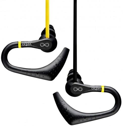 Žlté športové slúchadlá Veho ZS-2