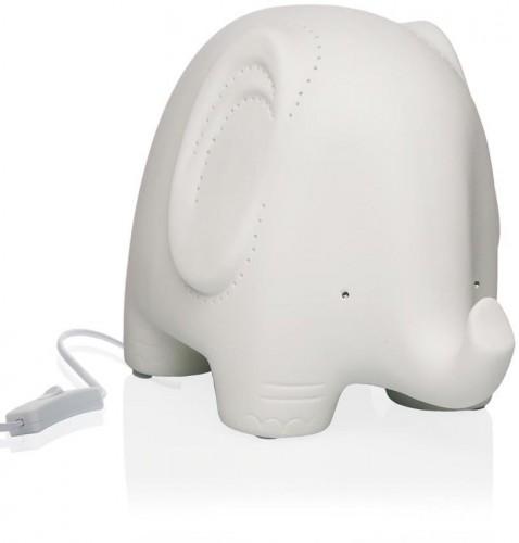 Stolová porcelánová lampa v tvare slona Versa