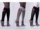 VETOFLEX RIDER SUMMER Silver Socks , vel. XL černá