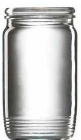 Vetropack Poháre zaváracie, 10 ks, 370 ml