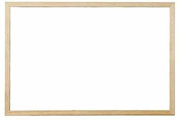 VICTORIA 60x90cm bílá, dřevěný rám