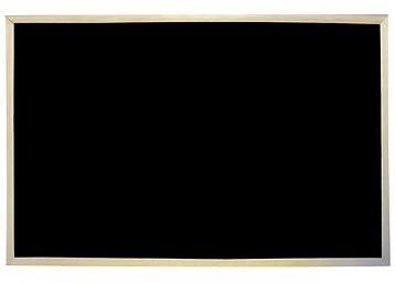 VICTORIA nemagnetická 60x90cm černá