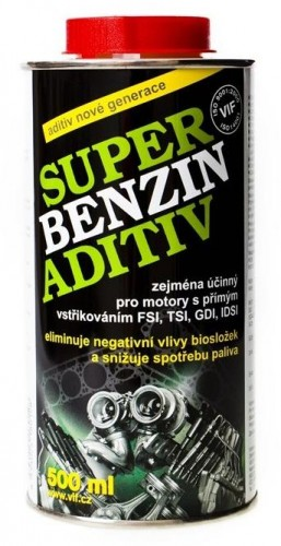 VIF SUPER BENZIN ADITIV CELOROCNY 500 ML